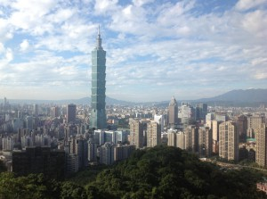 """I recently hiked on a scenic path near Taipei called the """"elephant mountain"""" scenic trail (象山步道 xiàngshān bùdǎo). These are pictures from that day."""