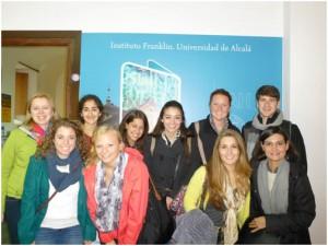 The whole CIEE group at la Universidad de Alcalá! (Photo Credit: Cristina Blanco)