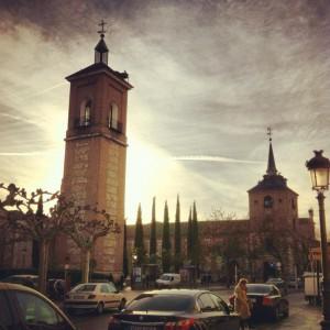 Another beautiful day in Alcalá de Henares!
