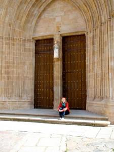 Iglesia de Santa María en Cáceres, Extremadura.