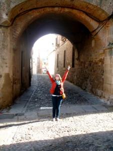 Puerta de Coria en Cáceres.