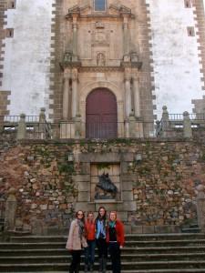 Iglesia de San Francisco Javier en Cáceres.