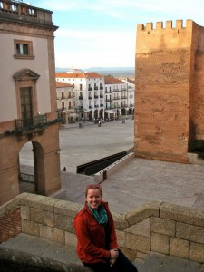 Cáceres is just beautiful.