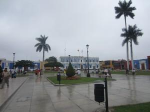 Plaza de Armas in Trujillo