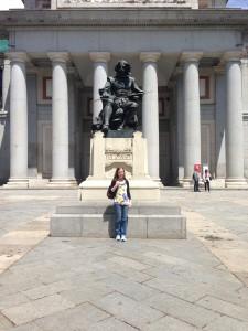 Visiting the Museo del Prado in Madrid!