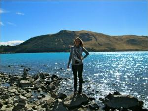 Yours truly at Lake Tekapo.
