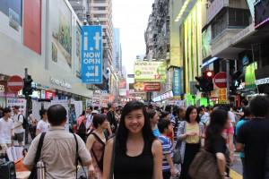 Hong Kong Street Shopping