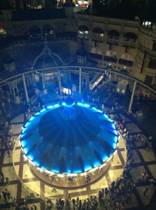 topview of the Merry-Go-Round So pretty