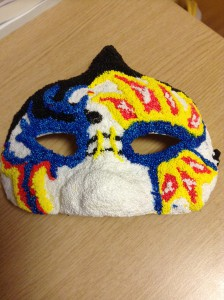 This is the mask I made!! =)