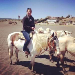 me on horseback!