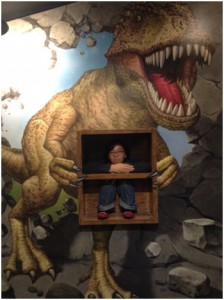 T T the dinosaur got me!!