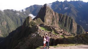 5.11 Max and I at Machu Picchu