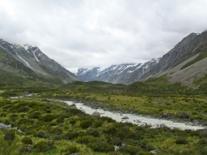 Hooker Valley...Sadly Mt. Cook Was Covered In Clouds