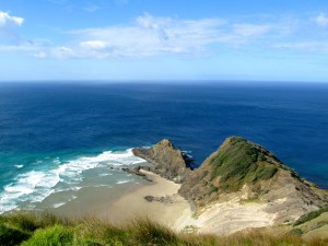 Sacred Departure Point For Maori Spirits