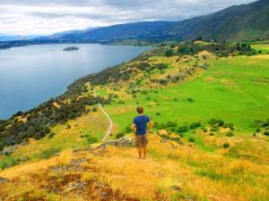Looking Out Over Lake Wanaka
