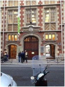 """This is where I will be taking my language class, """"Intitut Catholique"""" again just a 5 minute walk from my apartment."""