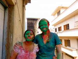 """After playing """"real Holi"""""""
