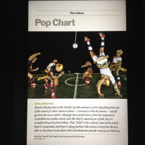 Sambadrome Parade float in Time Magazine!!