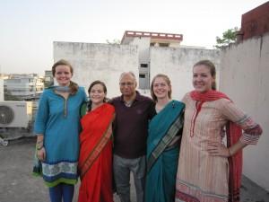 My Varanasi Hindi class with Vimal ji, our fantastic teacher