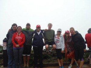 The Wisconsin crew at Volcán Poas