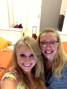 First roomie pic