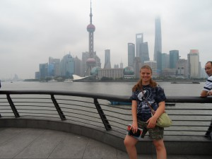 Me at Pearl Tower