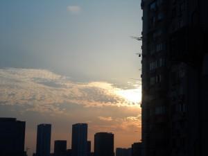 SunriseFromRoomWindow