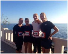 8 km race