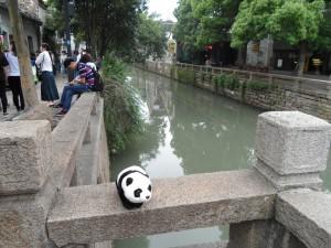 Bao Bao at SuZhou Canal