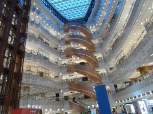 Crazy fancy mall