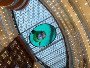 Fancy Mall's ceiling