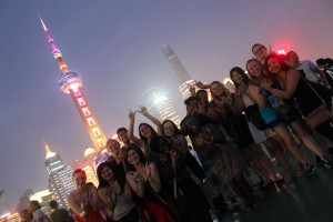 Hung Pu River Cruise group picture