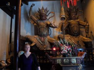 Jade Buddha Temple guards