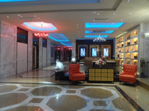 KTV fancy lobby