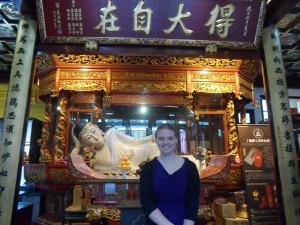 Reclining Jade Buddha