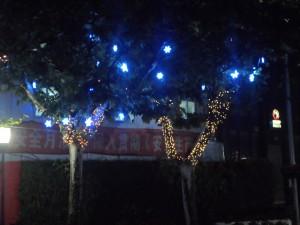 West Nanjing Road at night