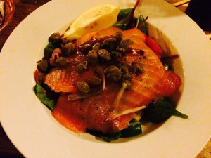 Irish Smoked Salmon Salad - Brakenhouse