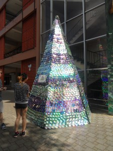 Cd Tree At La Universidad De Costa Rica