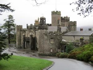 Balloch castle: built in the early 1800s