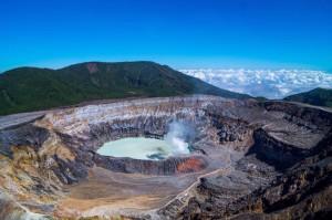 Volcan Poas Crater