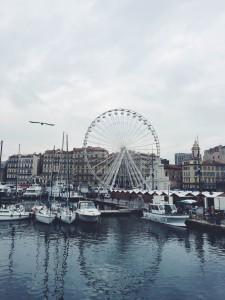 Ferries wheel, Marseille. Taken December 6, 2015.
