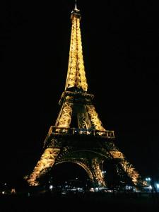 Eiffel Tower, Paris. Taken December 19, 2015.