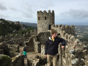 Your classic Moorish castle, a different brand of the Irish castles, but with striking similarities.