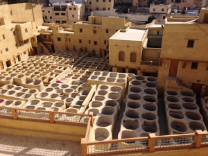 The newly renovated and not yet re-opened tanneries