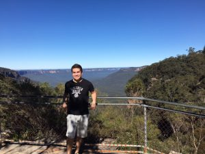 Greetings from the Blue Mountains