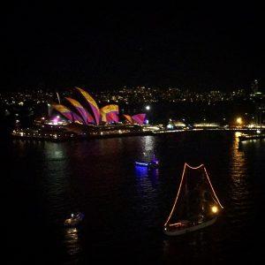 Sydney Opera House during Vivid Sydney 2016!