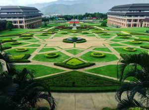 ^Mae Fah Luang Campus, view from a walkway on my way to my afternoon class
