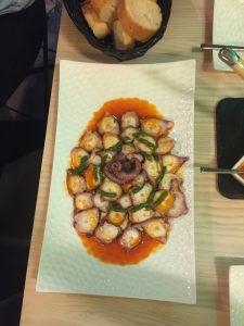 The best octopus I've ever eaten.